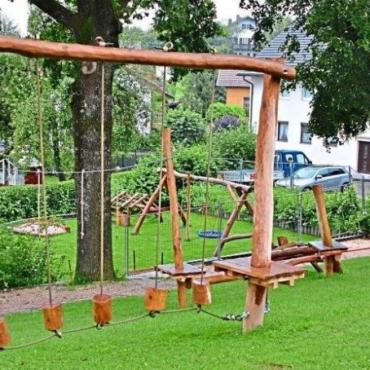 Niederseilgarten in der Mehringer Ortsmitte ist freigegeben